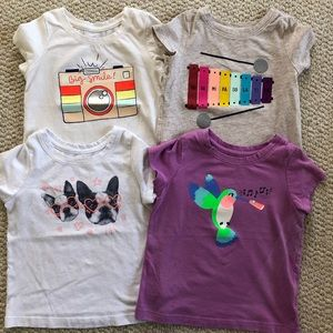 3T bundle of cat and Jack t shirts